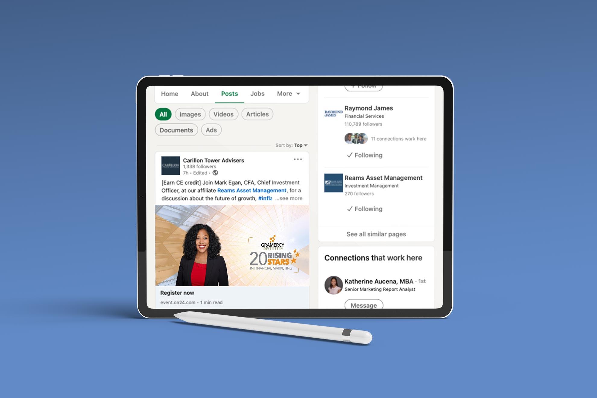 CTA-Meco-LinkedIn-Gramercy-Award-Mockup